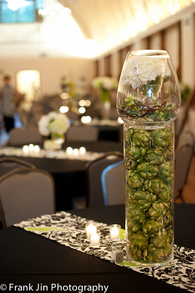Table Decor Wedding Reception WinMock Barn Wedding Piedmont Triad NC